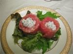 三文魚芝士卷
