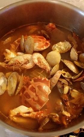 韓式海鮮辣湯