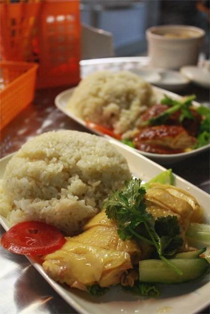 海南雞飯 / 燒雞飯